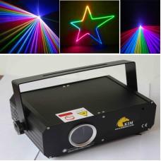 Mini 1W RGB laser 2D/3D/SD card dj laser light/stage light