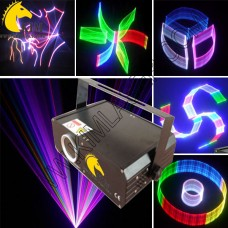 500MW RGB with SD+2D/3D Change Laser Light