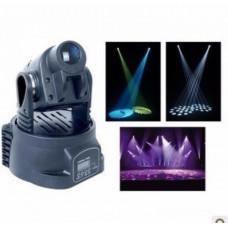 15w led mini moving head light