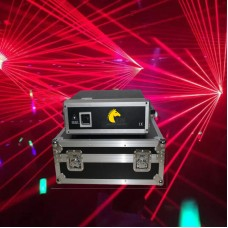 5W Single Red laser light with SD card