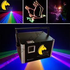 4W RGB-TTL-ILDA-SD card Laser show system