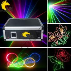 5W RGB TTL  With SD Card(New Version) with ILDA prjector