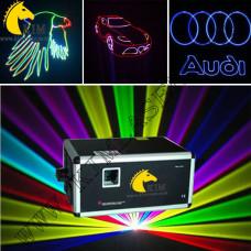 8W TTL RGB With SD Card( with flight case)