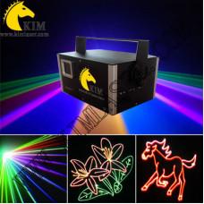 2W ILDA TTL RGB Laser with SD card- 30Kpps scanner