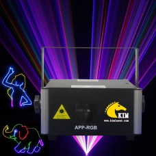 500mw/1W Android Phone APP Bluetooth  RGB Laser Light