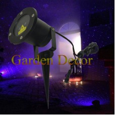 Static Single Blue firefly  Outdoor Garden Laser Light