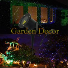 Green&Blue outdoor laser Christmas light projector