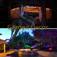 RGB static outdoor garden laser
