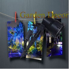 Blue moving firefly garden laser