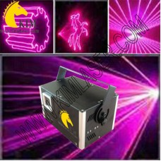 1500mW pink animation laser light with SD Card