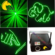 150mW green animation laser light with SD Card